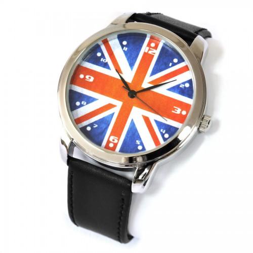 """Часы  """"Британский флаг """" - наручные.  Одежда, предметы интерьера..."""