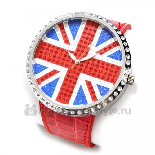 часы наручные с флагом