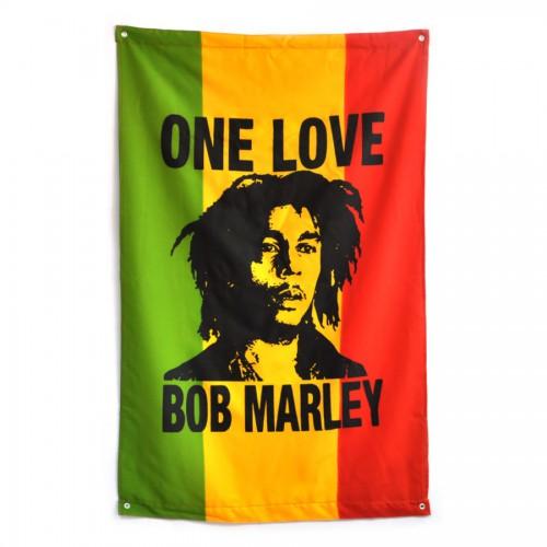 """Флаг Боба Марли """"One Love"""""""
