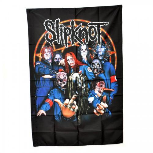 """Флаг группы """"Slipknot"""" -01"""