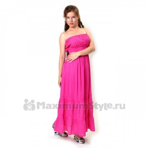 Сарафан длинный, летний (io-pink)