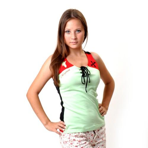 "Майка женская ""Magnat-X"" (l-green)"