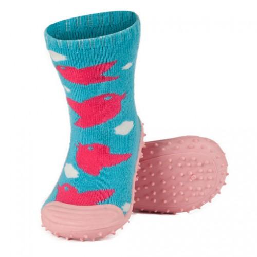 Детские домашние тапочки-ботиночки