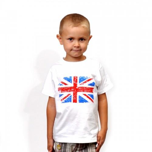 "Футболка детская ""Флаг Британии"""