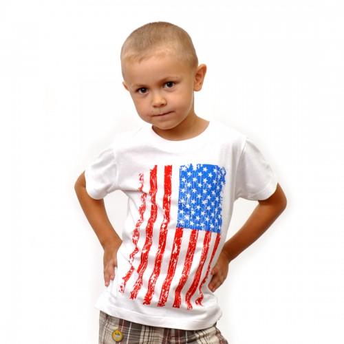 "Футболка детская ""Флаг США"""