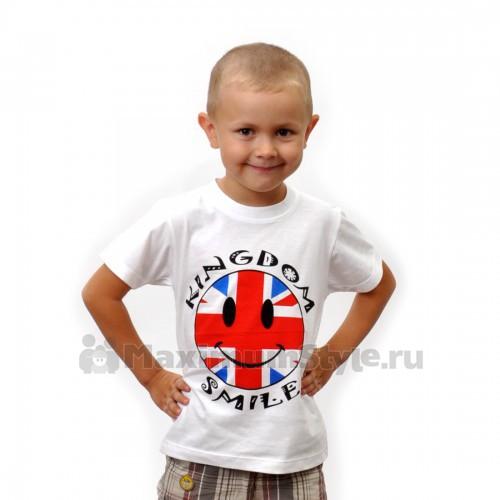 "Футболка детская ""Kingdom Smile"""
