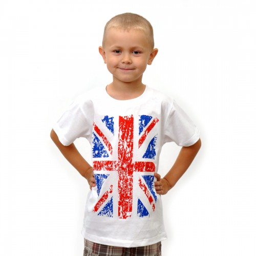 """Футболка детская """"Британский Флаг"""""""