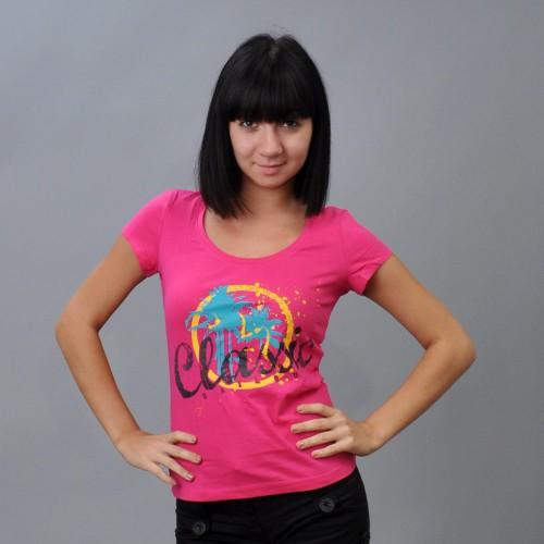"Футболка женская ""Classic"" (pink)"