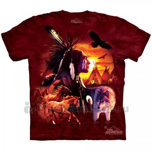"Футболка The Mountain ""Indian Collage"" (детская)"