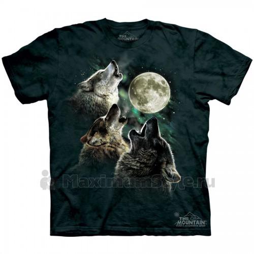 "Футболка The Mountain ""Three Wolf Moon"" (детская)"