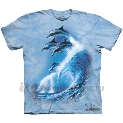 "Футболка The Mountain ""Four Dolphins"" (детская)"