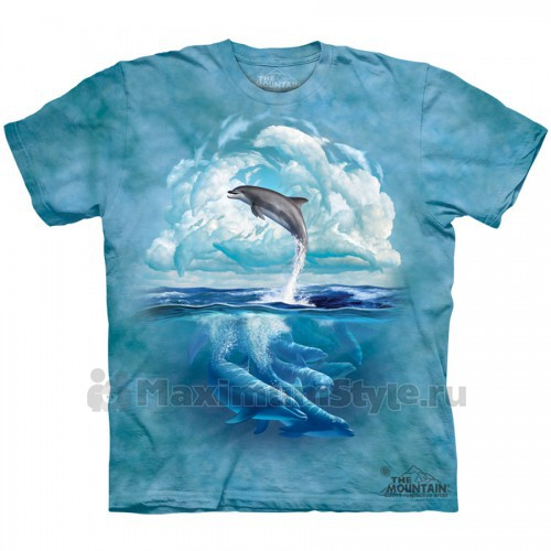 "Футболка The Mountain ""Dolphin Sky"" (детская)"