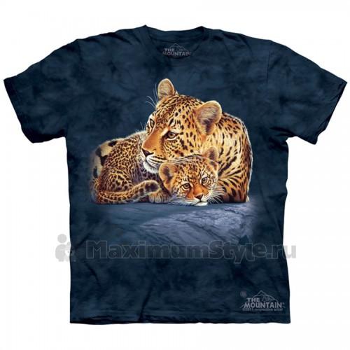 "Футболка The Mountain ""Leopard & Cub...""  (детская)"