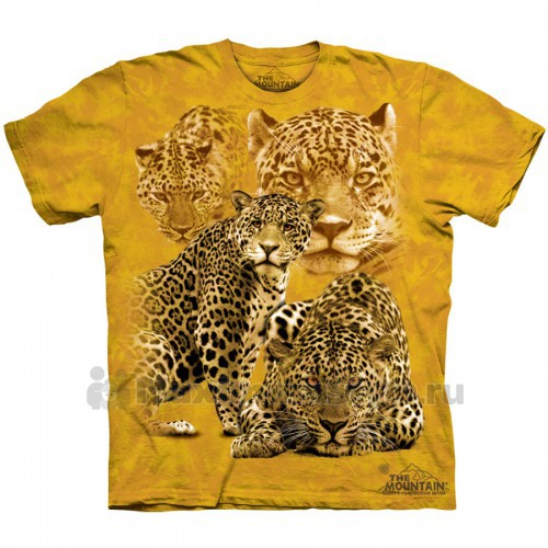 "Футболка The Mountain ""Leopard Collage"" (детская)"