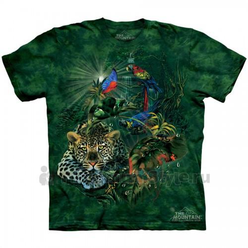 "Футболка The Mountain ""Rainforest Gathering"" (детская)"