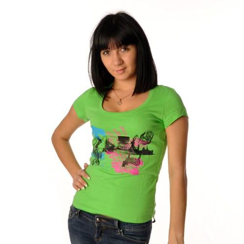 "Футболка женская ""Urban"" (green)"