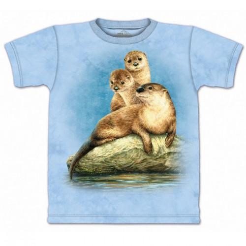 "Футболка The Mountain ""Three Otters"" (детская)"