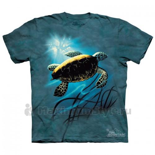 "Футболка The Mountain ""Green Sea Turtle"" (детская)"