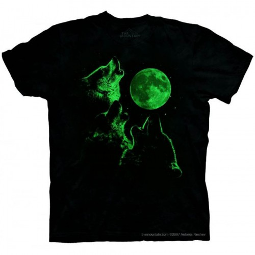 "Футболка The Mountain ""Three Wolf Moon Glow"" (детская)"