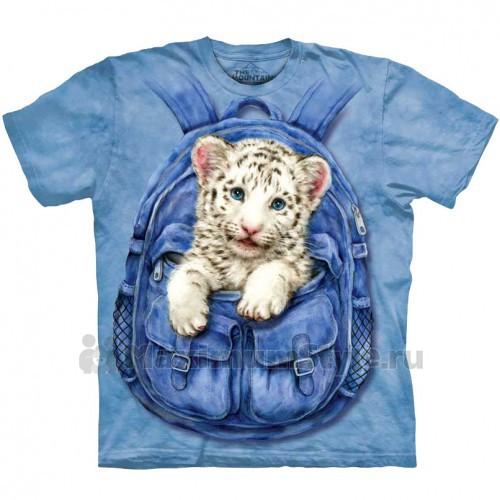 "Футболка ""Backpack White Tiger"" (США)"
