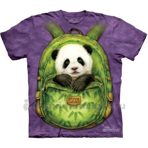"""Футболка """"Backpack Panda"""" (США)"""