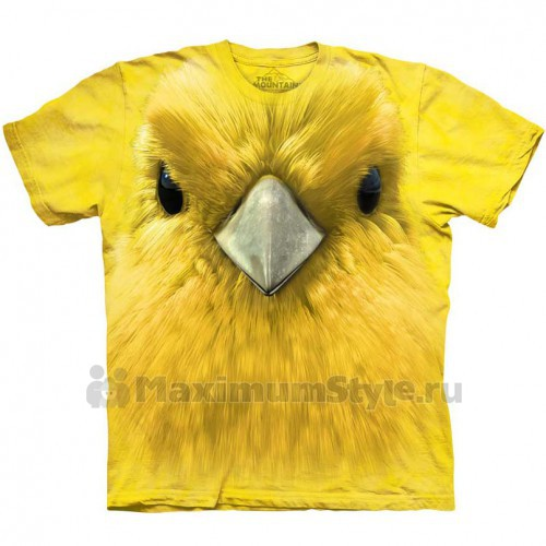 "Футболка ""Yellow Warbler Face"" (США)"