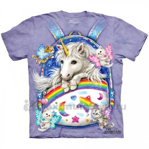 "Футболка ""Backpack Unicorn"" (США)"