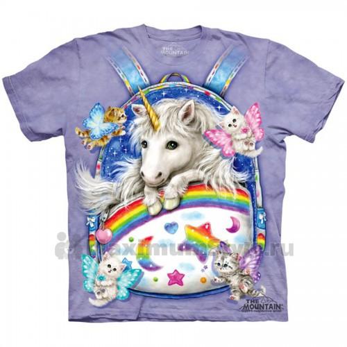 """Футболка """"Backpack Unicorn"""" (США)"""
