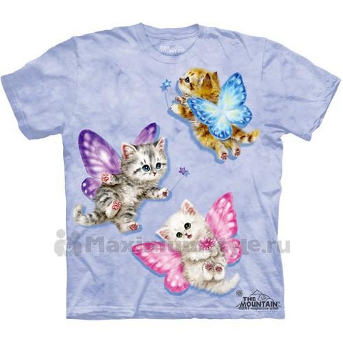 "Футболка ""Butterfly Kitten Fairies"" (США)"