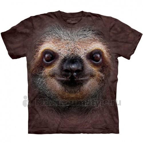 """Футболка """"Sloth Face"""" (США)"""