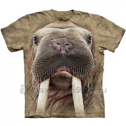 """Футболка """"Walrus Face"""" (США)"""