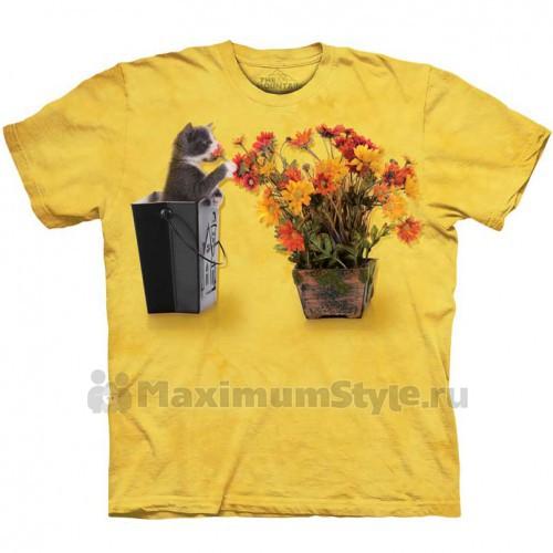 """Футболка The Mountain """"Flower Kitten"""" (детская)"""