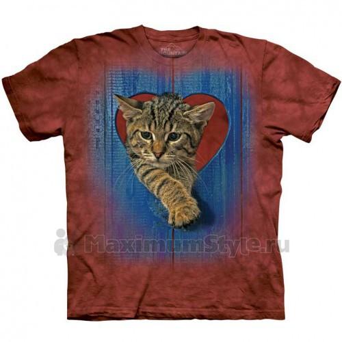 """Футболка """"Heart Kitten"""" (США)"""