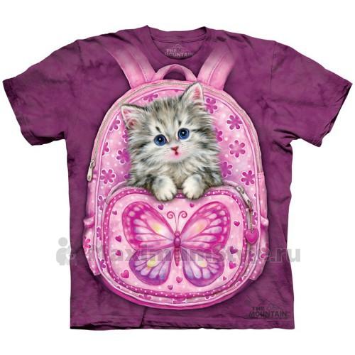 "Футболка ""Backpack Kitty"" (США)"