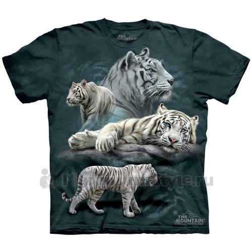 "Футболка ""White Tiger Collage"" (США)"