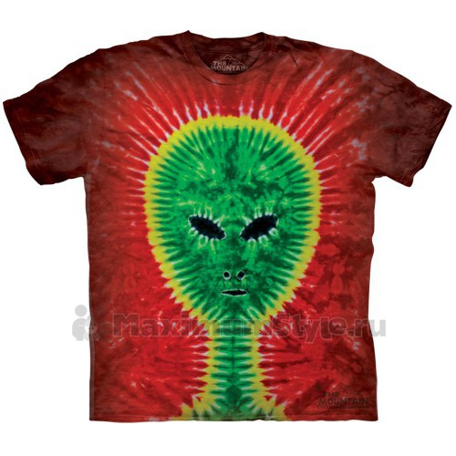"Футболка The Mountain ""Tie-Dye Alien"" (детская)"