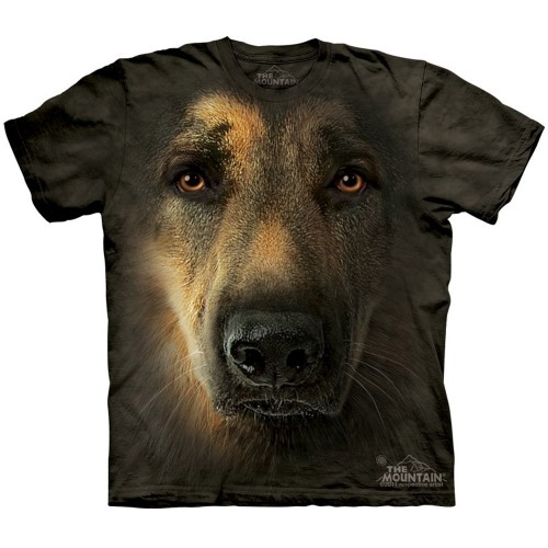 "Футболка The Mountain ""German Shepherd Portrait"" (детская)"