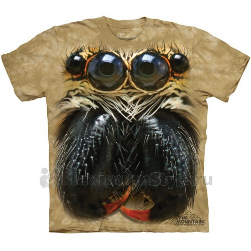 """Футболка The Mountain """"Jumping Spider Face"""" (детская)"""