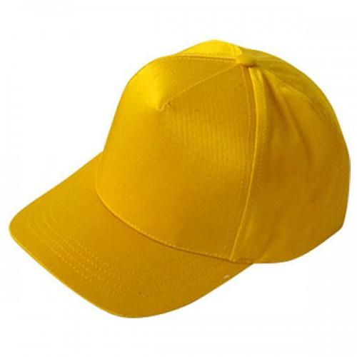 Бейсболка желтая (тонкая)