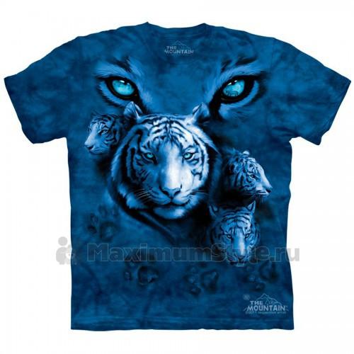 "Футболка The Mountain ""White Tiger Eyes"" (детская)"