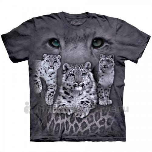 """Футболка """"Snow Leopards"""" (США)"""