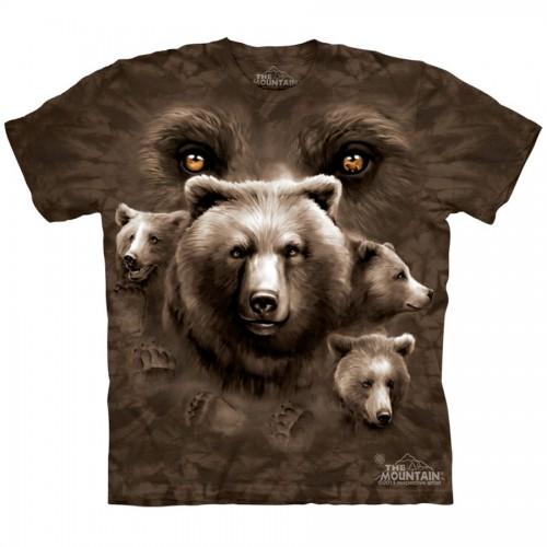 """Футболка The Mountain """"Bear Eyes"""" (детская)"""