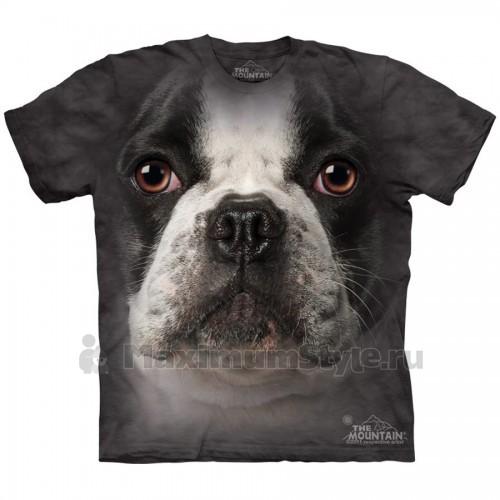 "Футболка The Mountain ""French Bulldog Face"" (детская)"