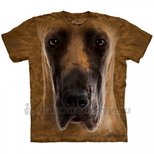 "Футболка ""Great Dane Face"" (США)"