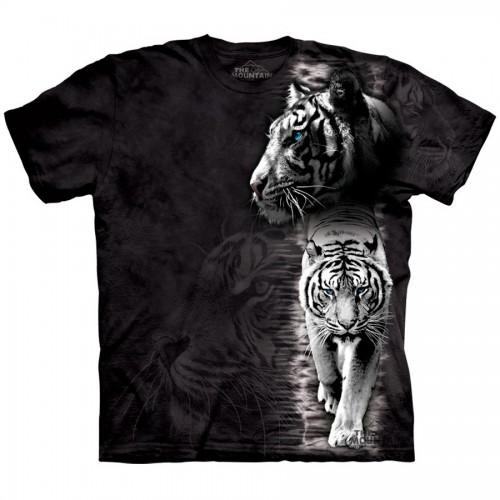 "Футболка The Mountain ""White Tiger Stripe"" (детская)"