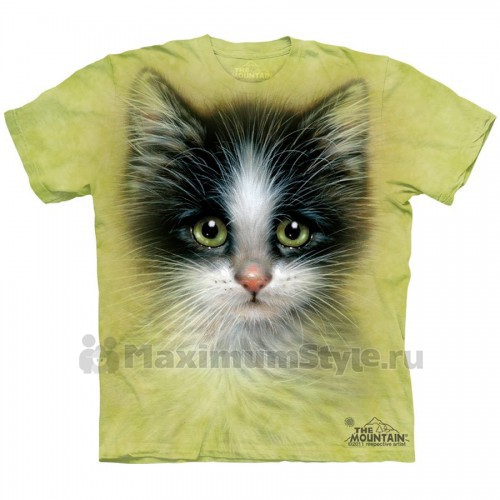 "Футболка ""Green Eyed Kitten"" (США)"