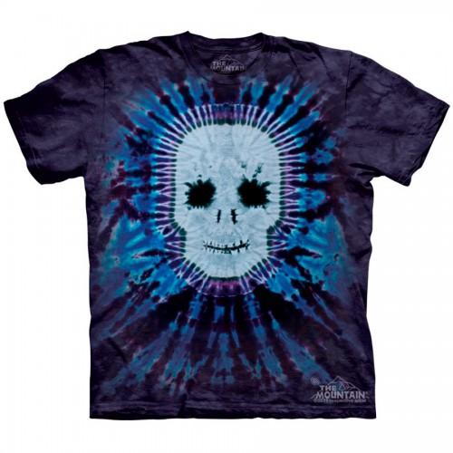 """Футболка """"Tie Dye Skull"""" (США)"""