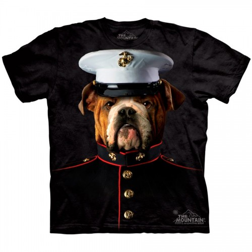 "Футболка The Mountain ""Bulldog Marine"" (детская)"