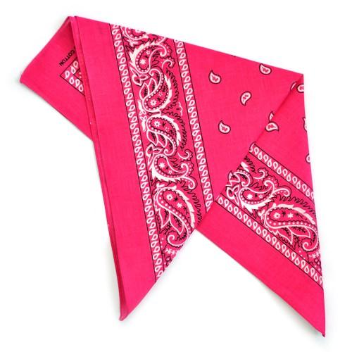 """Бандана """"Огурцы в квадрате""""-5 (pink)"""