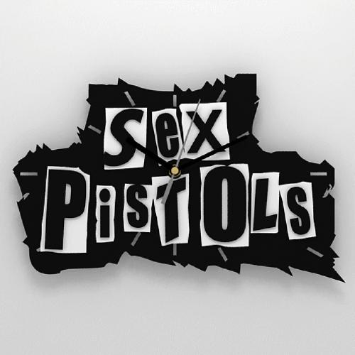 """Часы 3D настенные """"Sex Pistols"""""""
